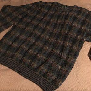 Vintage(?) Croft & Barrow Grandpa Sweater sz LT
